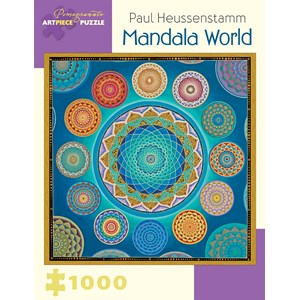 "Pomegranate (AA930) - Paul Heussenstamm: ""Mandala World"" - 1000 piezas"