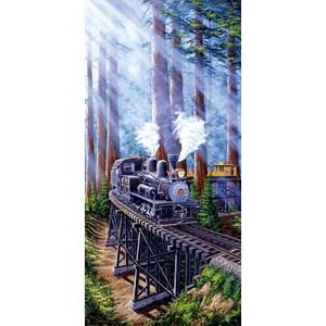 "SunsOut (69931) - Marc Desobeau: ""Redwood Sidewinder"" - 1000 piezas"