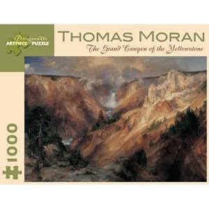 """Pomegranate (AA611) - Thomas Moran: """"The Grand Canyon of the Yellowstone"""" - 1000 piezas"""
