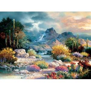 """SunsOut (18085) - James Lee: """"Springtime Valley"""" - 1000 piezas"""