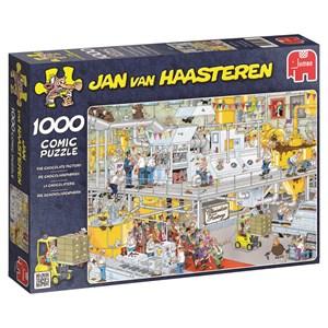 """Jumbo (17452) - Jan van Haasteren: """"Chocolate Factory"""" - 1000 piezas"""