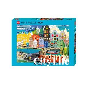 """Heye (29683) - Kitty McCall: """"I Love Amsterdam!"""" - 1000 piezas"""