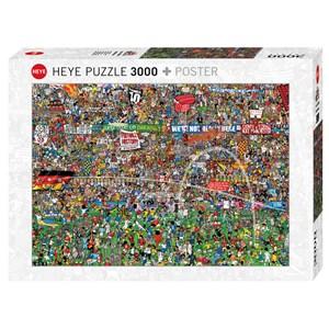 "Heye (29205) - Alex Bennett: ""Football History + Poster"" - 3000 piezas"