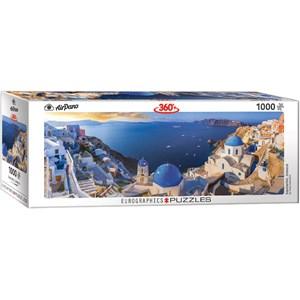 "Eurographics (6010-5300) - ""Santorini Greece"" - 1000 piezas"