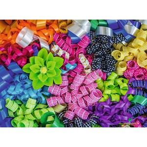 "Ravensburger (14691) - Carole Gordon: ""Colorful Ribbons"" - 500 piezas"