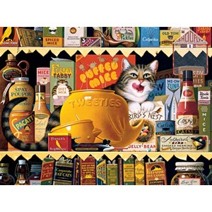 "Buffalo Games (17072) - Charles Wysocki: ""Ethel the Gourmet"" - 750 piezas"