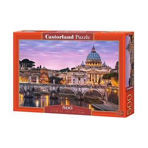 "Castorland (B-52493) - ""View of the Vatican"" - 500 piezas"