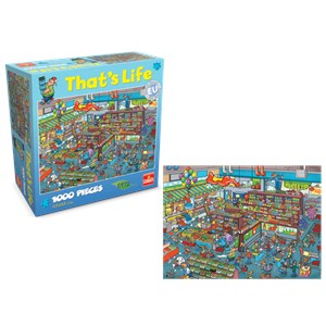 "Goliath Games (71307) - ""Supermarket"" - 1000 piezas"