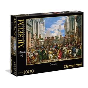 "Clementoni (39391) - Paolo Veronese: ""The Wedding at Cana"" - 1000 piezas"