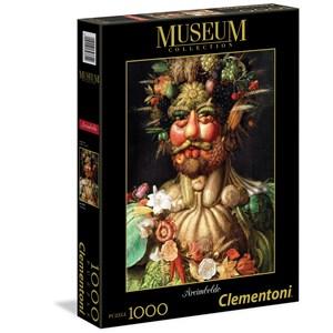 "Clementoni (39331) - Giuseppe Arcimboldo: ""Arcimboldo: Vertumnus"" - 1000 piezas"