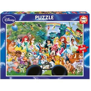 "Educa (16297) - ""World of Disney II"" - 1000 piezas"