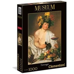 "Clementoni (31445) - Caravaggio: ""Bacchus"" - 1000 piezas"