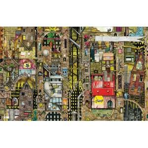 """Schmidt Spiele (59355) - Colin Thompson: """"Townscape"""" - 1000 piezas"""
