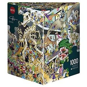 """Heye (29409) - Giuseppe Calligaro: """"Dinos"""" - 1000 piezas"""