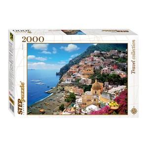 "Step Puzzle (84022) - ""Amalfi, Italy"" - 2000 piezas"
