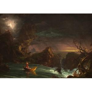 "Grafika (00244) - Thomas Cole: ""Le voyage de la Vie, 1842"" - 1000 piezas"