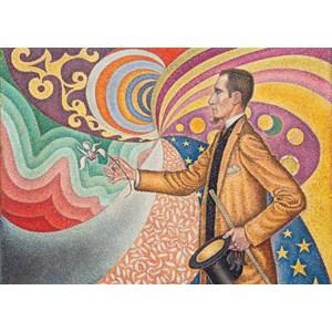 """Grafika (00297) - Paul Signac: """"Portrait of Félix Fénéon, 1890"""" - 24 piezas"""