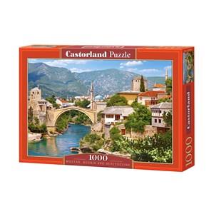 """Castorland (C-102495) - """"Mostar, Bosnia-Herzegovina"""" - 1000 piezas"""