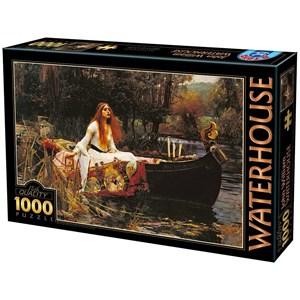 "D-Toys (72757) - John William Waterhouse: ""The Lady of Shalott"" - 1000 piezas"