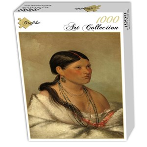 "Grafika (02233) - George Catlin: ""The Female Eagle, Shawano, 1830"" - 1000 piezas"