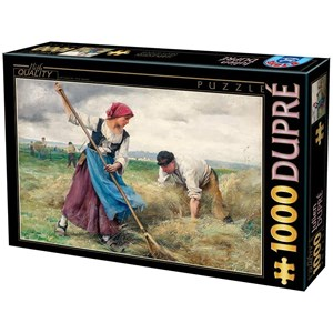 "D-Toys (72788-1) - Julien Dupre: ""The Harvesting of the Hay"" - 1000 piezas"