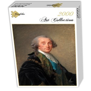 """Grafika (02174) - Élisabeth Vigée Le Brun: """"Alexandre Charles Emmanuel de Crussol-Florensac, 1787"""" - 2000 piezas"""