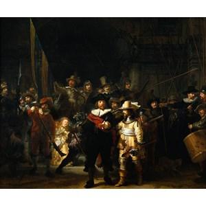 "PuzzelMan (472) - Rembrandt: ""The Night Watch"" - 210 piezas"