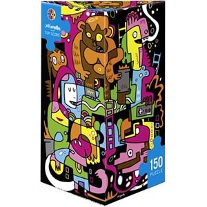 """Heye (29483) - Jon Burgerman: """"Best score"""" - 150 piezas"""