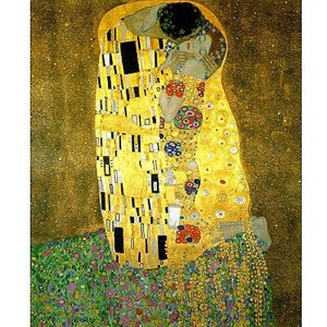 """Piatnik (545962) - Gustav Klimt: """"The Kiss"""" - 1000 piezas"""